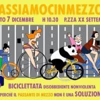 In piazza per l'ambiente, a Bologna una biciclettata contro il Passante