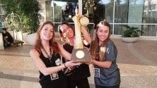 Tre bolognesi sul podio  dell'All Dance World