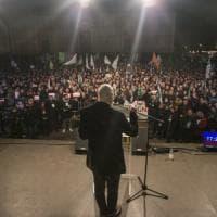 Bologna, in 10mila per Bonaccini: