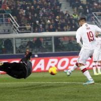 Il Bologna si sveglia tardi, al Dall'Ara vince il Milan 3-2