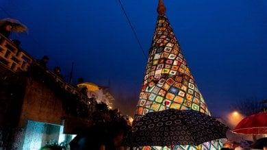 Dall'albero all'uncinetto di Cereglio  al bosco di Castenaso: il Natale si accende nelle piazze della provincia  foto