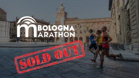 """La Bologna Marathon del 1° marzo 2020 è già """"sold out"""""""