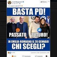 Regionali, Borgonzoni scivola sui social: chi votate? E il web le risponde Pd