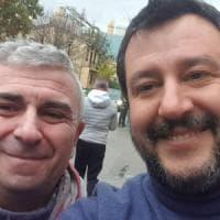 Selfie con Salvini mentre era in malattia, sindacalista Cgil licenziato
