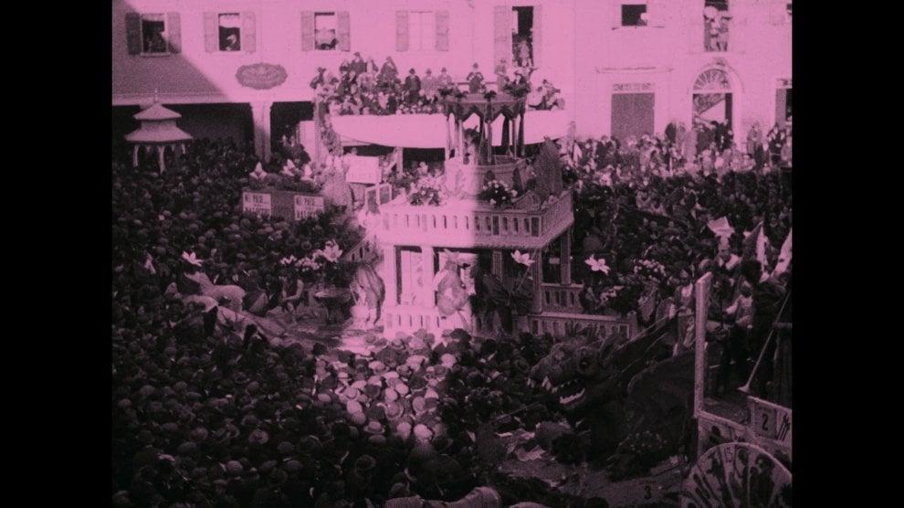 Correva l'anno 1928: filmato inedito del carnevale storico di Persiceto