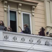 Restiamo a casa: immagini da Bologna chiusa dal coronavirus