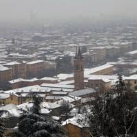 Bologna, la nevicata di primavera