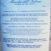 """Bologna, falsa circolare del ministero dell'Interno: """"Non siete residenti? Andatevene via, faremo controlli"""""""