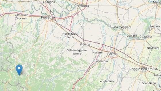 Piacenza, tre scosse di terremoto in 24 ore, la più forte di magnitudo 4,2