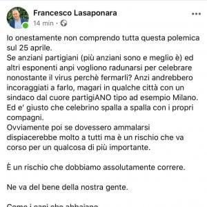 """Forlì, il consigliere leghista: """"Fate radunare gli anziani partigiani. Se poi si ammalano... E' un rischio da correre"""""""