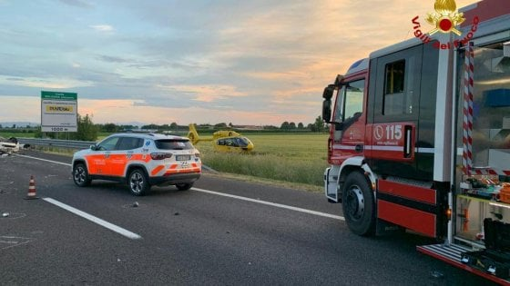 Bologna, incidente sulla A13: un morto e 4 feriti