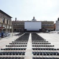 Bologna, è tutto pronto per il grande cinema in piazza