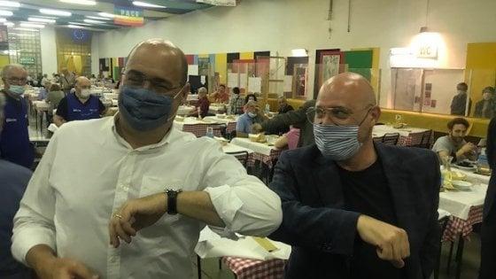 """Pd, Bonaccini con Zingaretti a Modena: """"Il segretario è un amico ma sa che io ho le mie idee"""""""