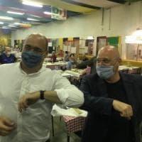"""Pd, Bonaccini con Zingaretti a Modena: """"Il segretario è un amico ma sa che io ho le mie..."""