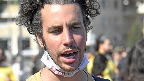 """Mattia Santori: """"Il dialogo col Pd? E' serrato, talvolta duro"""""""