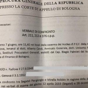 Due agosto, la Procura di Bologna accusa il capitano Segatel di depistaggio