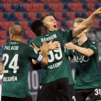 Bologna e Torino chiudono alla pari