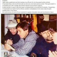 Gianni Morandi, regalo ai fan: uno scatto di 40 anni fa con Lucio Dalla e Vasco Rossi