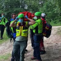 Appennino emiliano, cadute e incidenti: un sabato di intenso lavoro per