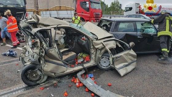 Grave incidente sulla tangenziale di Bologna: muore pompiere
