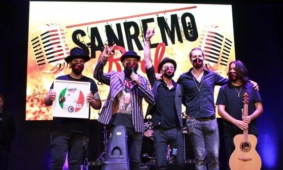 """""""I ceffi della Bolognina"""" vincono Sanremo Rock"""
