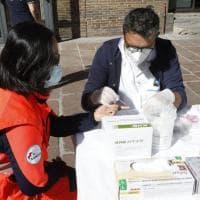 Bologna, in piazza Re Enzo i test sierologici sugli under 40