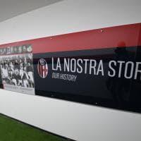 La storia del Bologna nel tunnel dello stadio: visite guidate