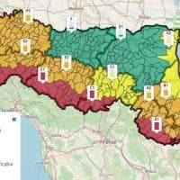 Emilia-Romagna, allerta rossa per vento