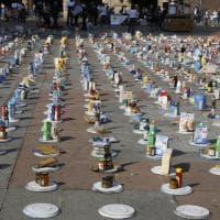 """""""Riempi il piatto vuoto"""": il Cefa in piazza Maggiore. La raccolta fondi per le mense di Bologna"""