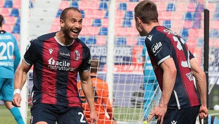 Il Bologna schianta lo Spezia 4-1, Saputo applaude in ...