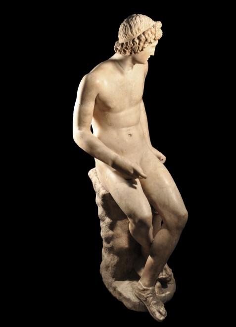 """Uffizi, restaurato l'""""Apollo seduto"""""""