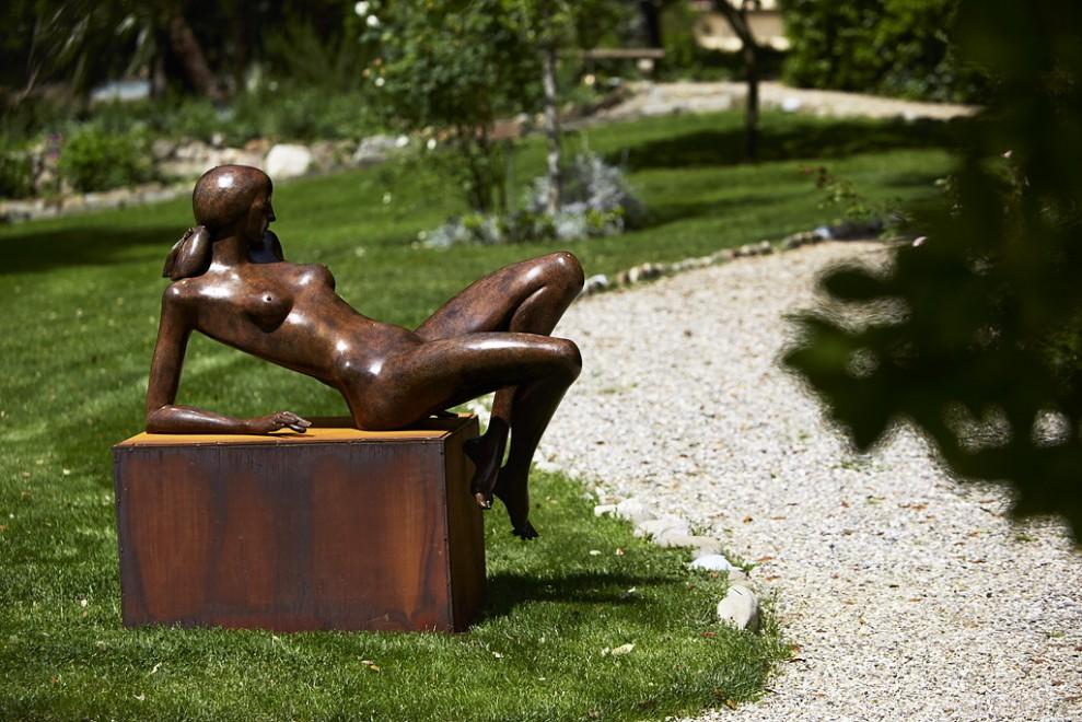 Artisti a confronto nel giardino del Four Seasons