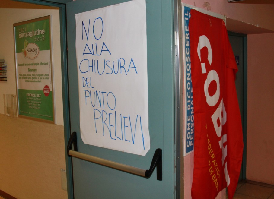 Ponte a Niccheri, la protesta dei Cobas