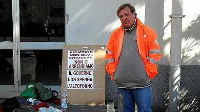 Lucchini, iniziato lo sciopero della fame dell'operaio Paolo Francini