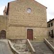 Crolla tetto di una chiesa a Castiglion Fiorentino