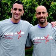 Dalla Fiorentina a Yilmaz e Marcorè, i testimonial di Corri la Vita