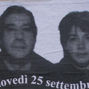Olindo e Rosa sul volantino della festa, provocazione dopo le proteste antimovida