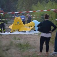 Precipita un piccolo aereo, due morti