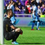 Il malinconico lunedì viola  dopo il  tonfo contro la Lazio