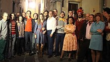 "Sul set di ""Universale"" Firenze riscopre i mitici anni Settanta  /   Foto"