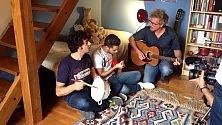 Gazzè e Fabi, concerto nella cameretta di un loro fan fiorentino