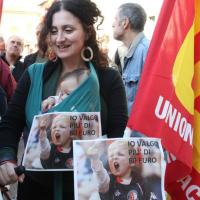 Firenze, in piazza contro il Jobs Act