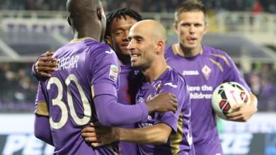 La Fiorentina si rilancia, 3-0 all'Udinese doppietta di Babacar, poi Borja Valero