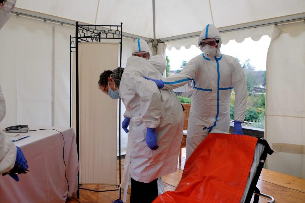 Ebola, così i medici intervengono per un caso sospetto