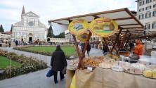 I mercatini dei sapori    in piazza (in attesa    del Natale)