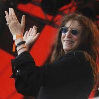 Patti Smith reading a Lucca