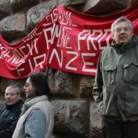Occupazioni e slogan: le proteste dei dipendenti provinciali a Firenze e