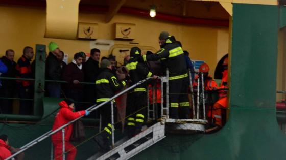 """Il soprano Theodossiou: """"Ho visto uomini picchiare le donne per mettersi in salvo"""""""