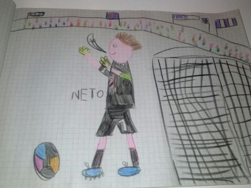 Disegno Di Un Bambino : Neto nel disegno di un bambino 1 di 1 firenze repubblica.it