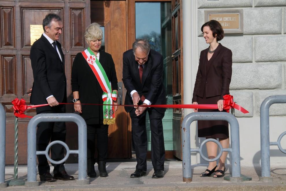 Ristrutturato il consolato americano sul lungarno Vespucci